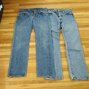 Lot of 2 Levi's 501 29x32 buttonfly